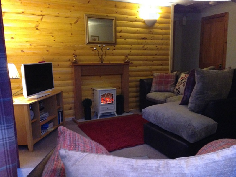 Loch Eck Argyll Log Cabin