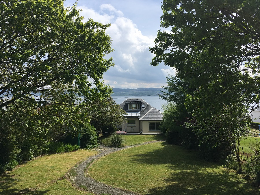 Luxury Scottish Cottage Sea Views Hot Tub