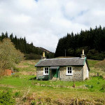 Remote Highland Holiday Cottage Log Fire