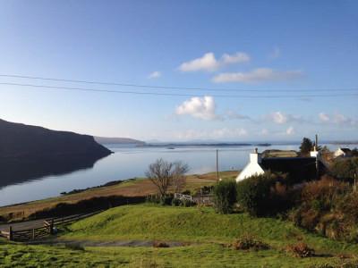 Sea View Cottage Isle Of Skye Hot Tub Log Fire