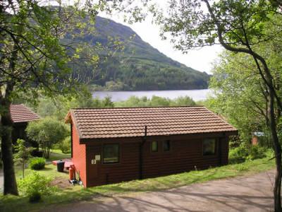 Argyll Log Cabins Loch Views Sauna