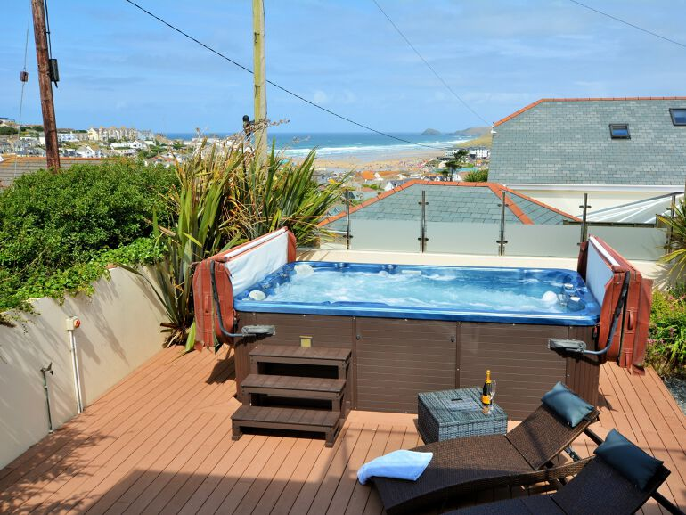 Sea View Holiday Cottage Cornwall