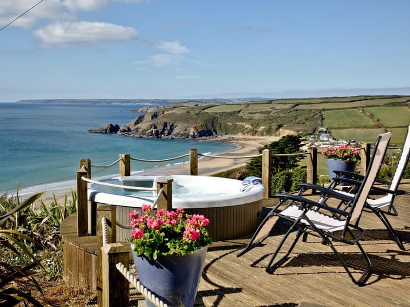 Sea View Holiday Cottage Pra Sands Cornwall